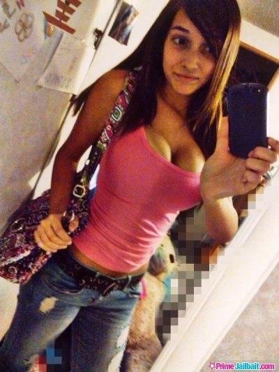 Sexy teen huge tits
