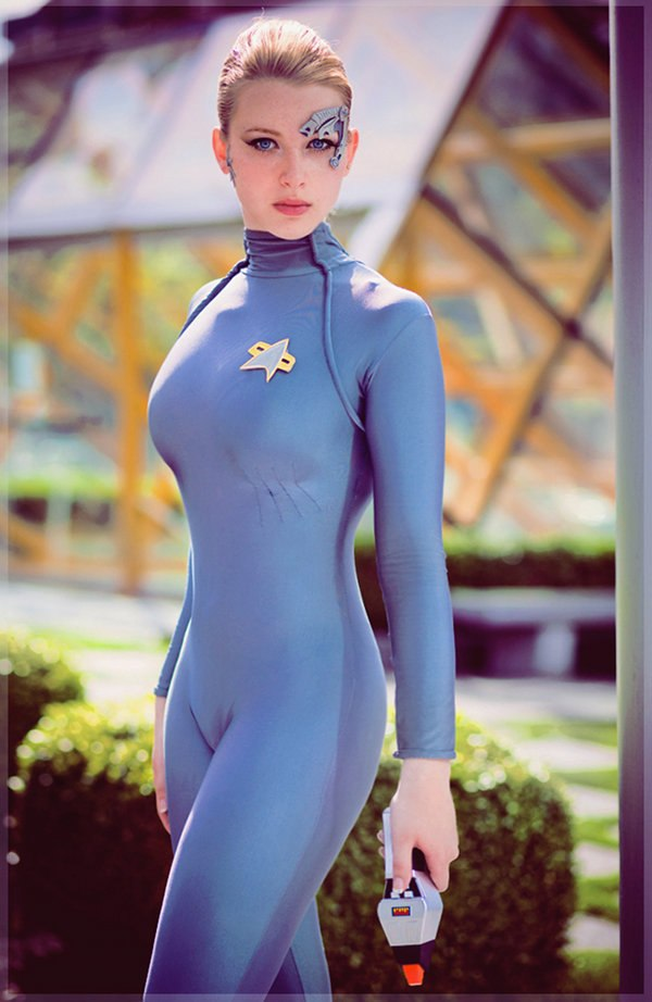 All became Star trek cosplay sexy can read